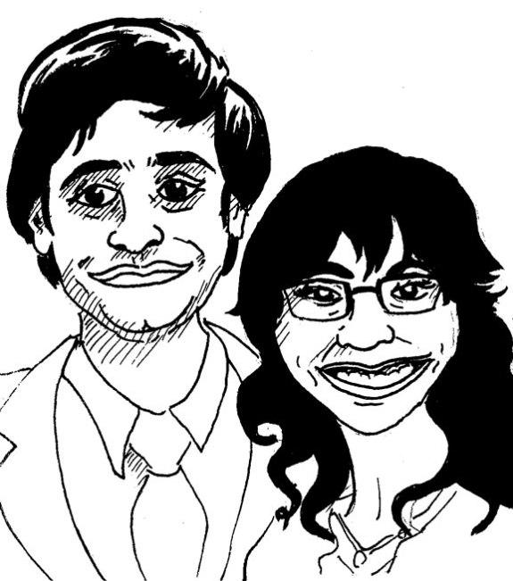 Portrait #17- Paul & Lena