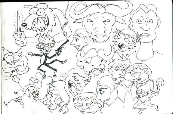 Sketchbook May 22, 2014