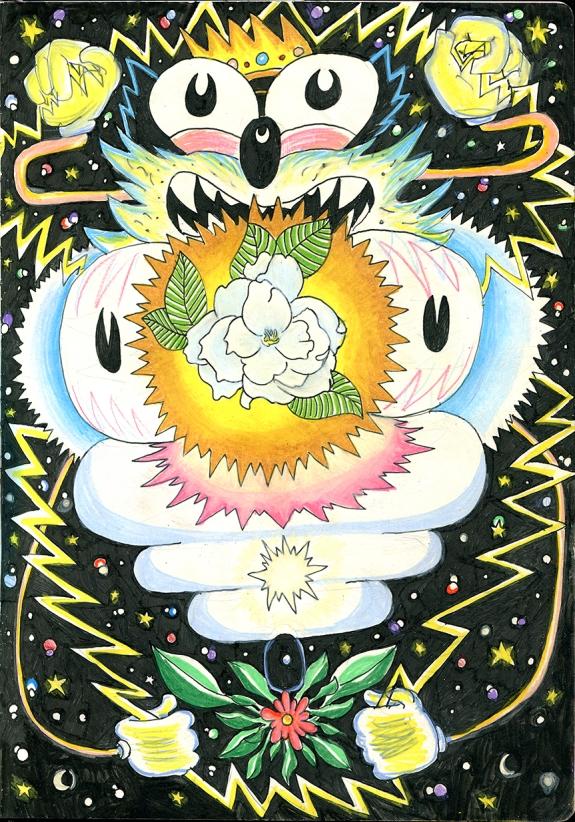 kingcatflowercolor
