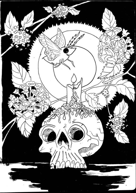 Skullmoth