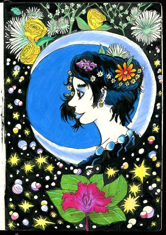 flowerladycolor